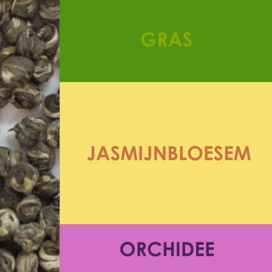 Tasting notes Jasmijn Parels