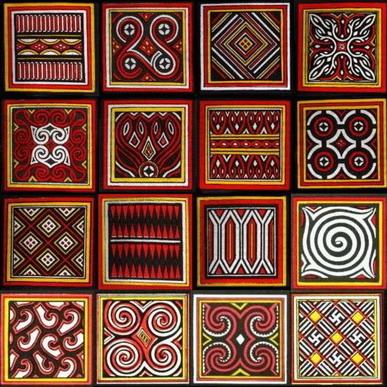 Toraja patroon