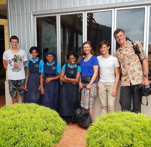 Evermore Ian in Rwanda - online koffie bestellen