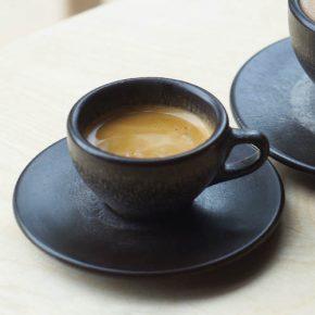 KAFFEEFORM. Espressokop van koffiedik