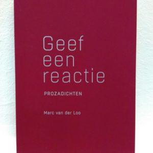 'Geef een reactie' Marc van der Loo | Evermore