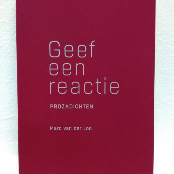 'Geef een reactie' Marc van der Loo   Evermore