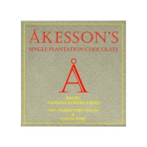 Akessons Brazil Forastero 100% met nibs | Evermore