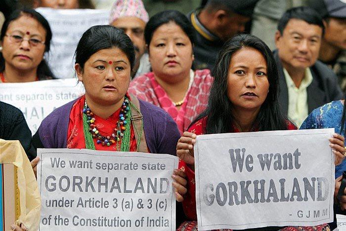 Protesten Gorkhaland Darjeeling | Evermore