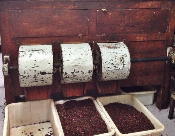 De oude houten wanmachines van Blanxart | Evermore