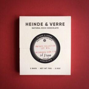 Heinde & Verre Micro Batch 71% Nicaragua Lot #14 70g