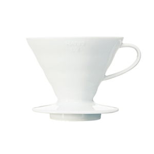Hario V60-02 Ceramic Coffee Dripper White | Evermore