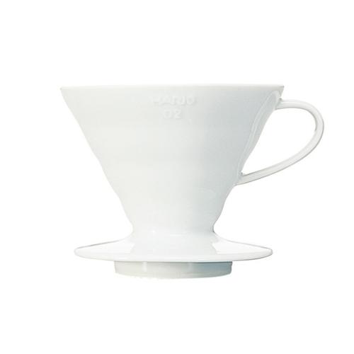 Hario V60-02 porseleinen filterhouder Wit | Evermore
