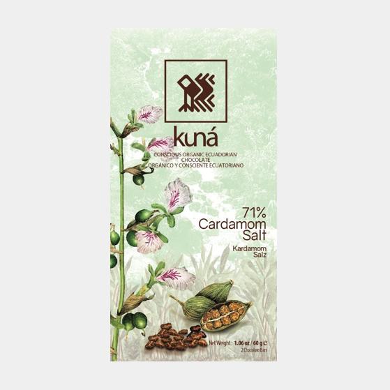 Kuna Cardamom Sea Salt | Evermore