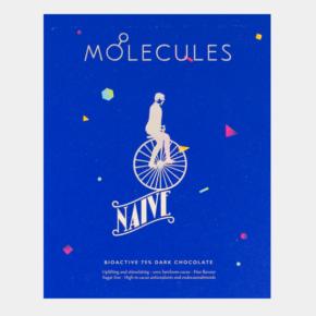 Naive Molecules 75% Bioactive Dark Chocolate BIO