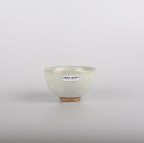 Zero Japan Teacup KWH Crackle White