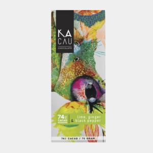 Kacau 74% Gember, Limoen, Zwarte Peper | Evermore