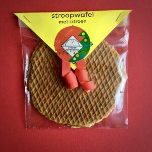 Stroopwafel Large met Citroen van Stroop Rotterdam