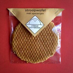 Stroopwafel Large met Specerijen van Stroop Rotterdam