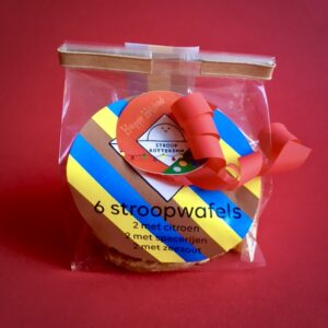Stroopwafels 6 stuks in verschillende smaken van Stroop Rotterdam