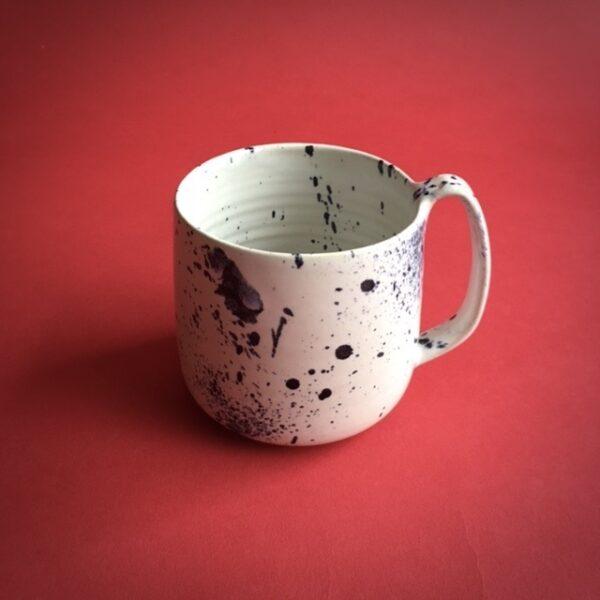 XXL Lazy Relax Mug Black Spruzzi van Noot & Swart Ceramics