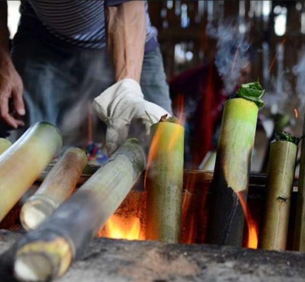 Vietnam Smoked Dark Tea in Bamboo | Evermore