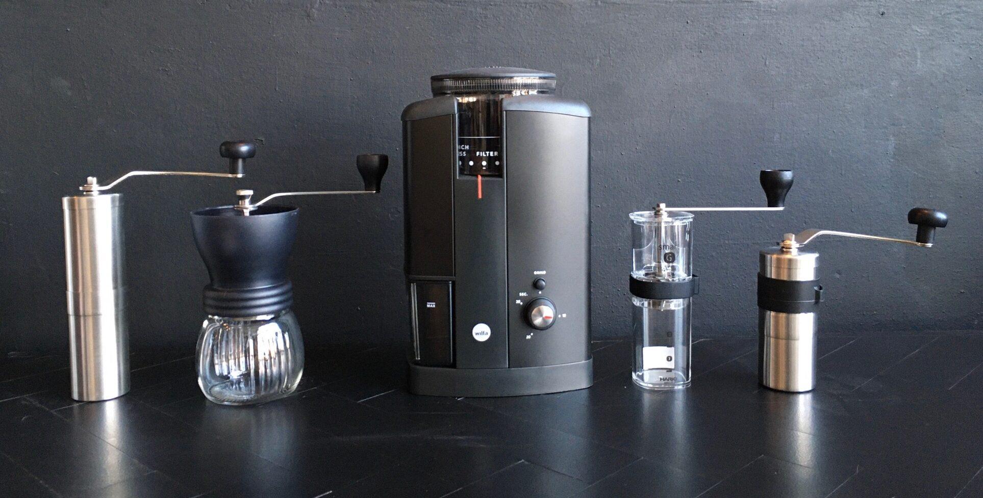 Alle koffiemolens op een rij | Evermore